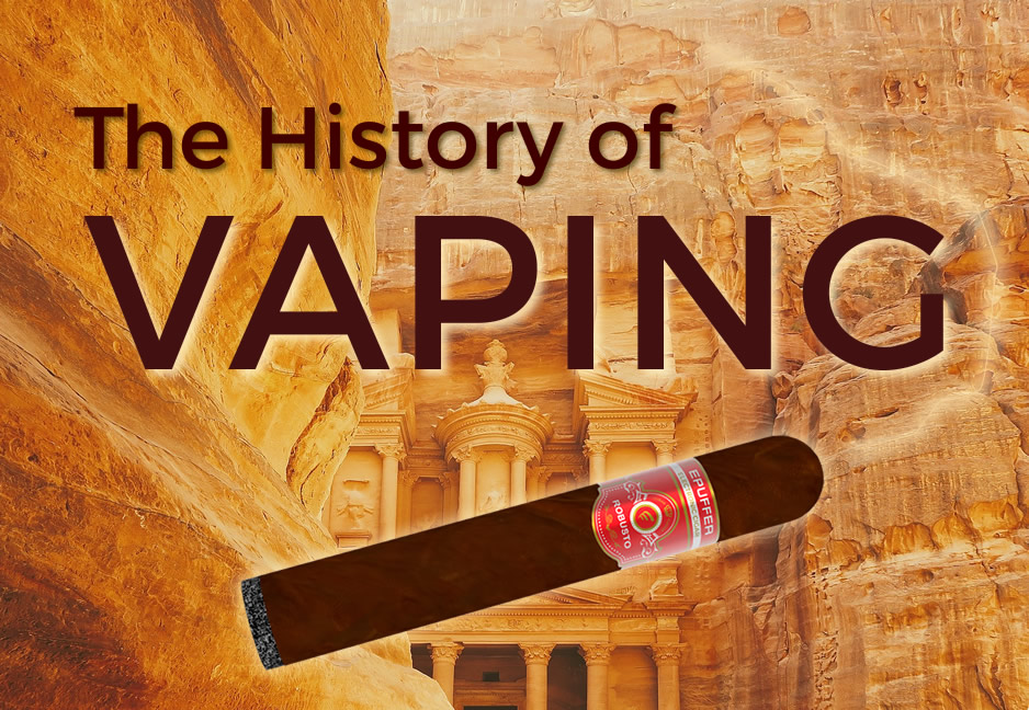 history of vaping