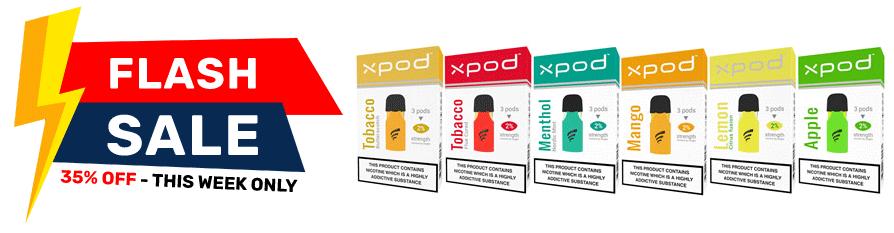 XPOD prefilled pods sale