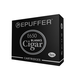blank ecigar epipe cartridges