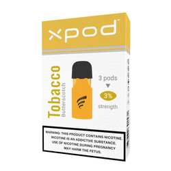 XPOD tobacco butterscotch vape pod