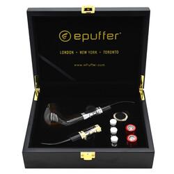 ePuffer Electronic Pipe Vape epipe 629X Kit - 2021 Ebony Dark Wood