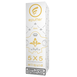 5x5 cured tobacco blends eliquid flavour vape ejuice