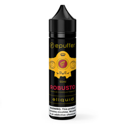 epuffer robusto cigar tobacco eliquid