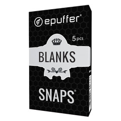 snaps ecigarette blank refillable vape cartridges black