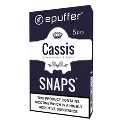 snaps ecigarette blackcurrant apple vape cartridges