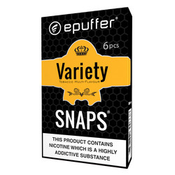 snaps ecig tobacco variety multi flavour cartridges