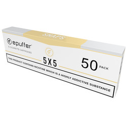 snaps ecigarette 5x5 roasted cured tobacco cartridges