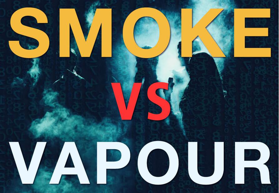 smoke vs vapour