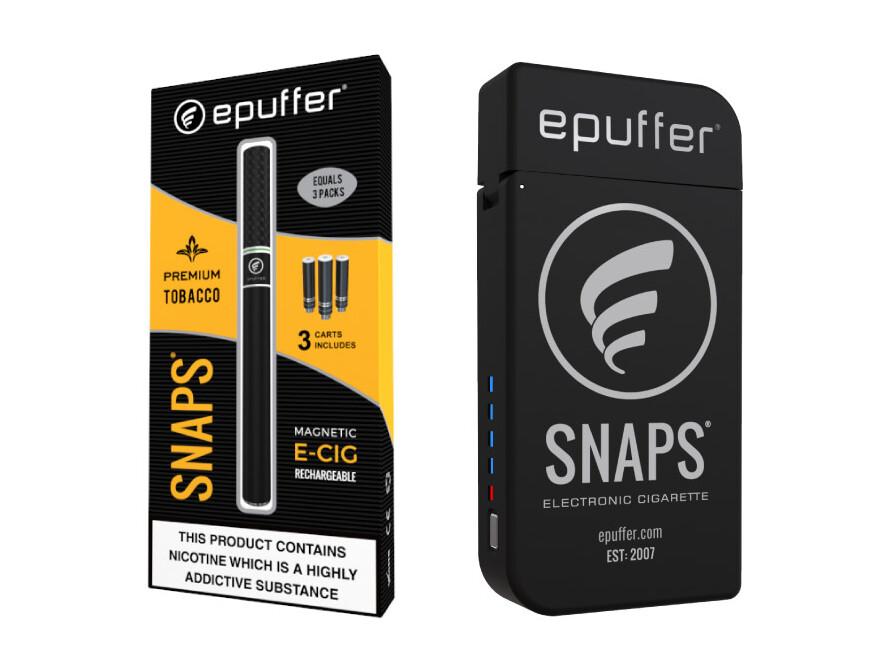 epuffer snaps ecigarette vape kit