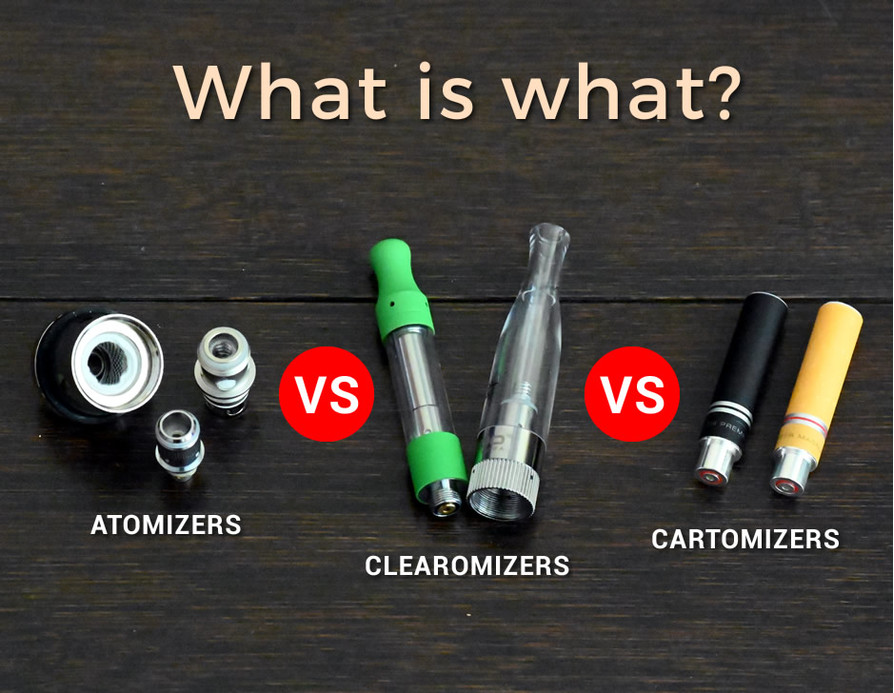 vaping atomizer clearomizer cartomizer