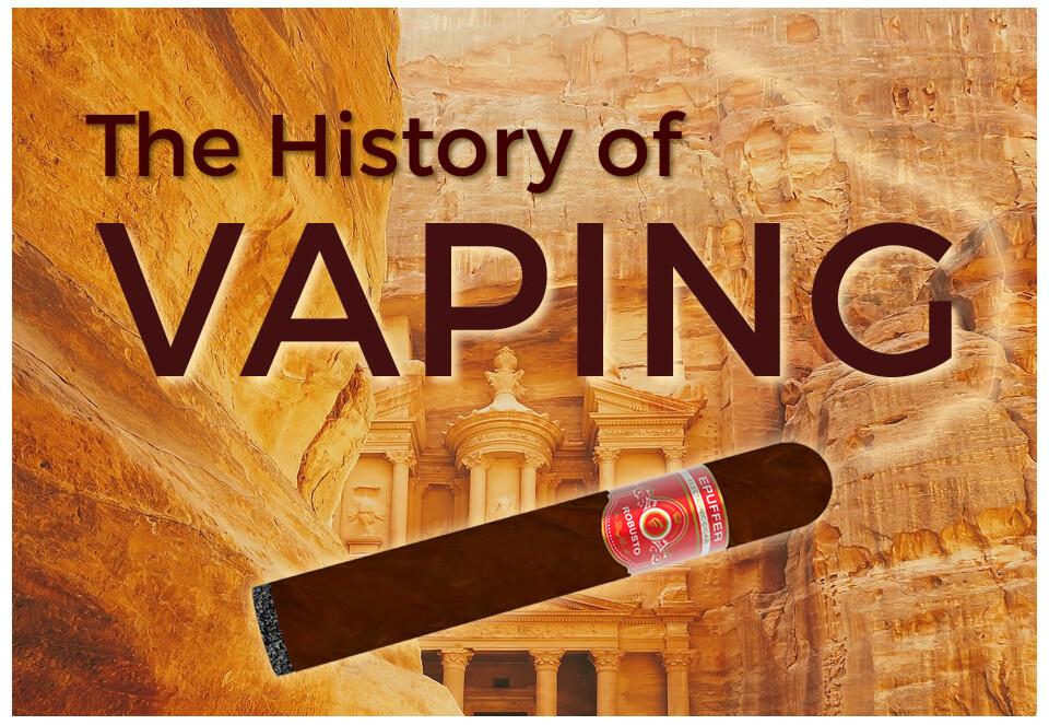 history of vaping